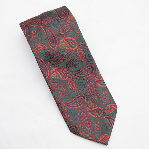 db3927e2520b Saks Fifth Avenue Accessories | Paisley Pure Silk Made In Italy ...